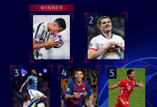 Τα 5 καλύτερα γκολ του Champions Leaguen από την UEFA (Vid)