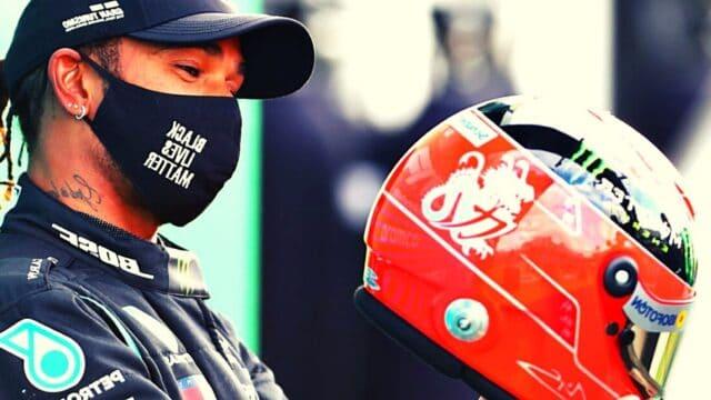 Formula 1: Ο Χάμιλτον Ισοφάρισε το ιστορικό ρεκόρ του Σουμάχερ!