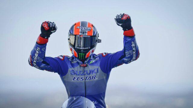 MotoGP: O Alex Rins την πρώτη του φετινή νίκη στην πίστα της Aragon!