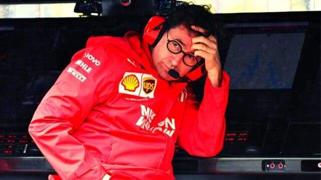 Ferrari: Ανώμαλη προσγείωση από Μπινότο. Όχι άλλο κάρβουνο!