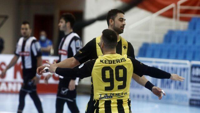 ΑΕΚ – ΠΑΟΚ 24-22: Κυπελλούχος Ελλάδας η «Ένωση» (vids)