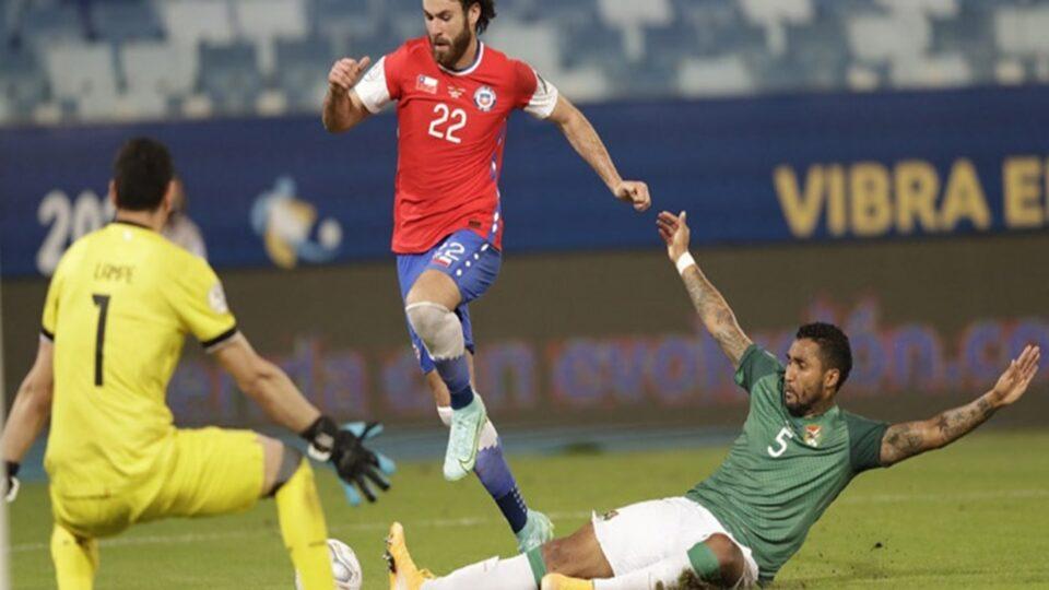 """Πρώτη νίκη για τη Χιλή, 1-0 τη Βολιβία! Χωρίς ρίσκο και με πείσμα για το """"τρίποντο""""! (vids)"""