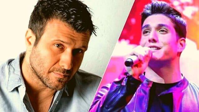 Πλούταρχος & Κακοσαίος: Μπαμπάς & γιος τραγούδησαν σε συναυλία! (Vid)