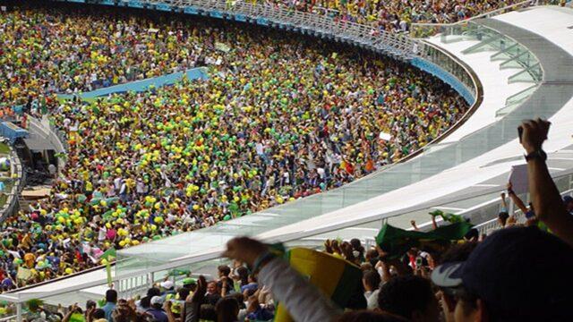 Με κόσμο ο τελικός ανάμεσα σε Βραζιλία και Αργεντινή! (pic)