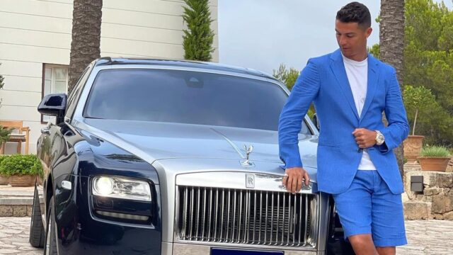 Ronaldo όπως λέμε Rolls Royce, Φεράρι και… Γιούβε;