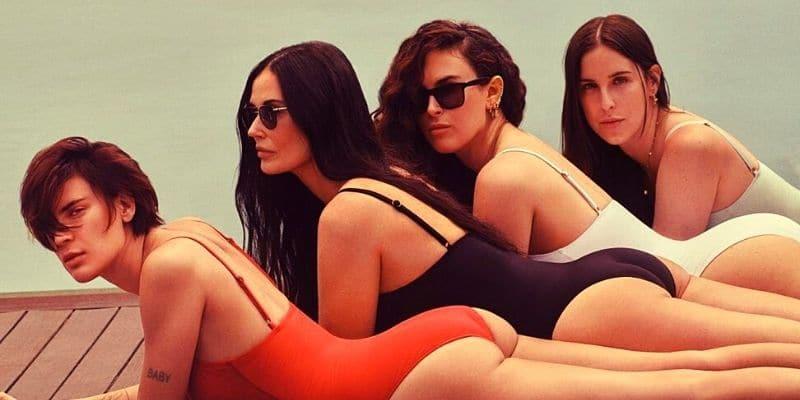 Η Demi Moore φωτογραφίζεται με τις κόρες της, και άντε να τις ξεχωρίσεις! (Vid)