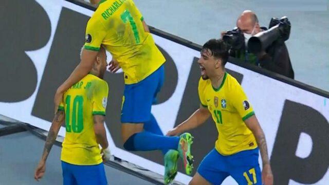 Στον τελικό η Βραζιλία! (vid)