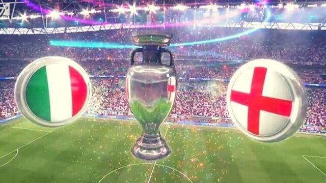 EURO 2020 Ιταλία – Αγγλία: Ισοπαλία 1-1 στον μεγάλο τελικό – Στην παράταση και βλέπουμε! (Vids)