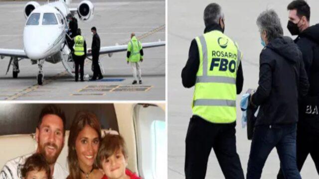 Απρόοπτο: Απειλή για βόμβα στο αεροπλάνο του Μέσι! (pic)