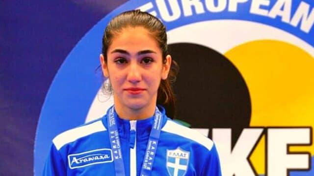 Χρυσή η Λυδία Ξένου στο Ευρωπαϊκό Πρωτάθλημα Καράτε!