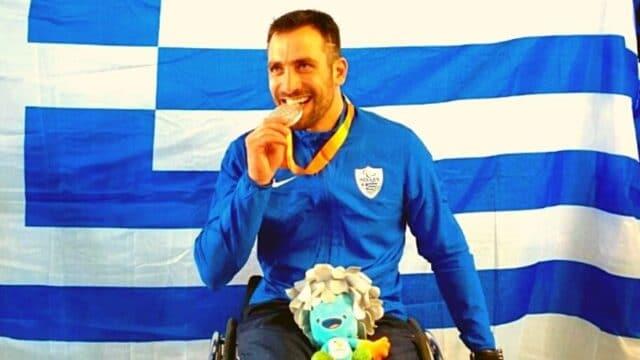 Πρώτο μετάλλιο στους Παραολυμπιακούς! Χάλκινος ο Τριανταφύλλου! (pic)