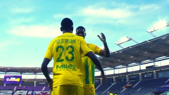 Ligue 1: Τουλούζ-Ναντ: 1-2