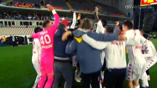 Ligue 1: Λανς-Μονακό: 0-0