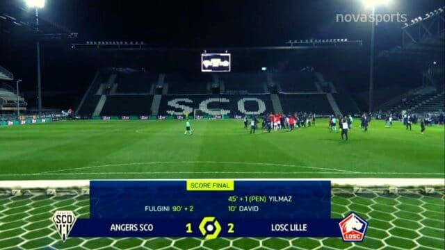 Ligue 1: Ανζε-Λιλ: 1-2