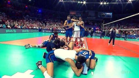 Βόλεϊ: CEV |  Ιταλία – Σλοβενία 3-2 Πρωταθλητές Ευρώπης 2021 οι Ιταλοί! (hls)