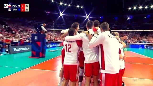 Βόλεϊ: CEV    Πολωνία – Σερβία 3-0 (hls)