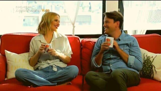 Η επιστροφή της Νάντιας Μπουλέ στην τηλεόραση και το ντουέτο με τον  Μίνωα Θεοχάρη! (Vid)