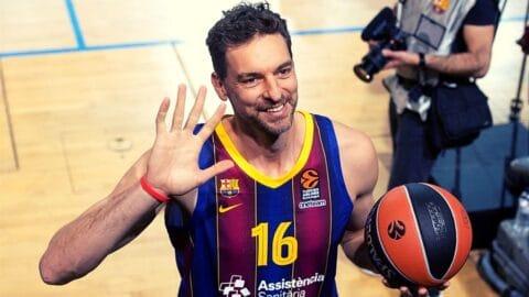 Πάου Γκασόλ: Αν ξαναπαίξω μπάσκετ θα είναι μόνο για την Μπαρτσελόνα!