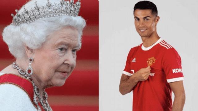 Φαν του Κριστιάνο και η Βασίλισσα της Αγγλίας!