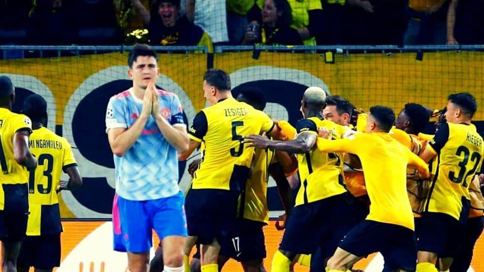 Champions League: Γιουνγκ Μπόις – Μάντσεστερ Γιουνάιτεντ 2-1 (Vid)