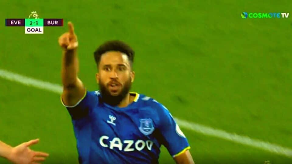 Premier League: Έβερτον – Μπέρνλι 3-1 (Γκολ και φάσεις)