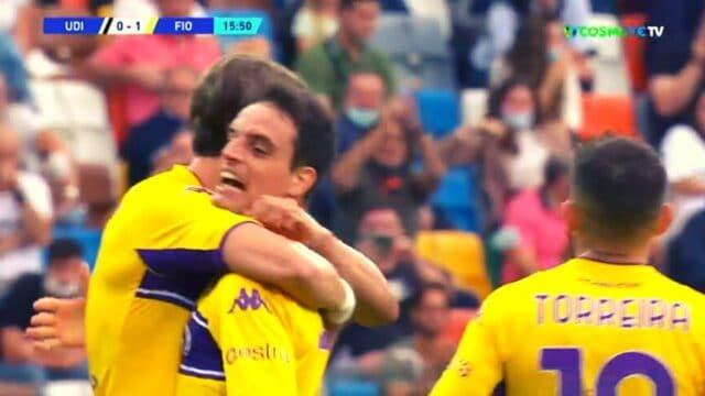 Ουντινέζε – Φιορεντίνα 0-1 (Serie A) (vid)