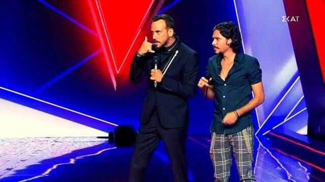 """The Voice Spoiler: Ο Μουζουράκης το """"σαλάμι"""" και το ντουέτο! (Vid)"""