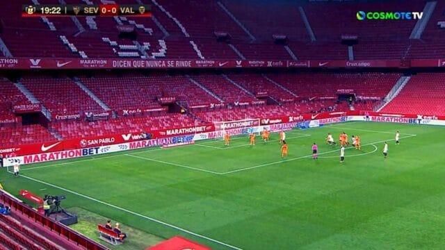 La Liga: Σεβίλλη – Βαλένθια 3-0