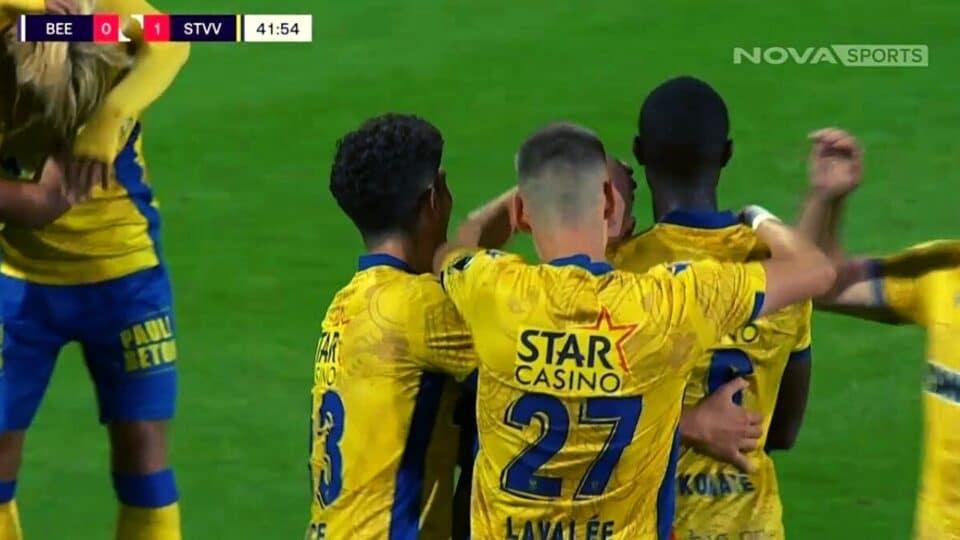 Pro League:  Μπέρσχοτ – Σεντ Τρούιντεν 0-1