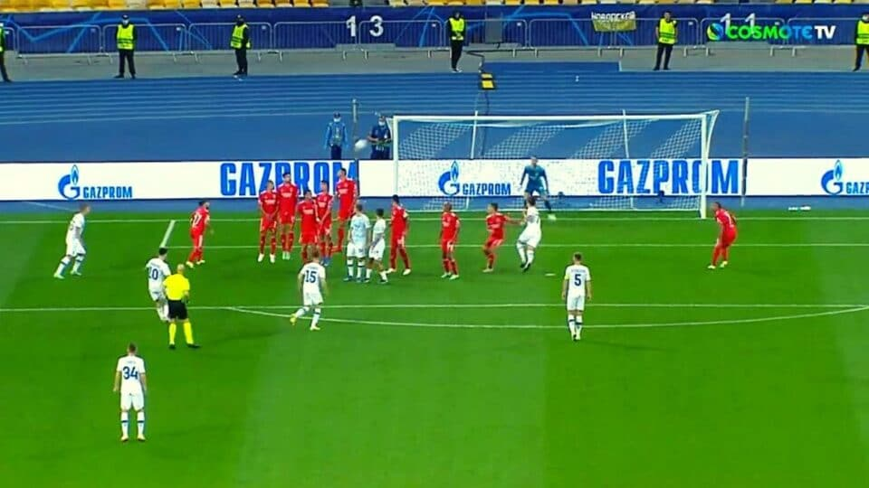 Champions League: Ντιναμο Κιέβου – Μπενφίκα 0-0