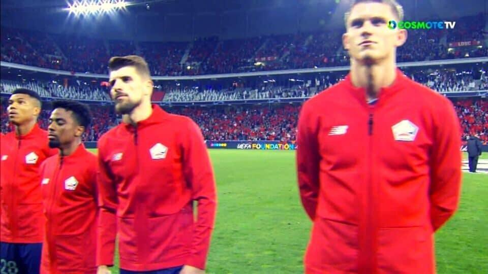 Champions League: Λιλ – Βόλφσμπουργκ  0-0