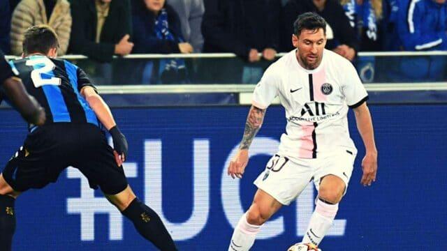 Champions League: Κλαμπ Μπριζ – Παρί Σεν Ζερμέν 1-1