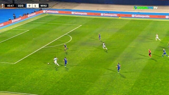 Europa League: Ντιναμό Ζάγκρεμπ – Γουέστ Χαμ 0-2