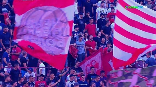 Europa League: Ερυθρός Αστέρας – Μπράγκα 2-1
