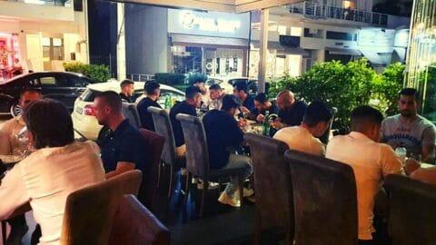 Οικογενειακό το κλίμα στο δείπνο της ΑΕΚ! Παρών και ο Μελισσανίδης!