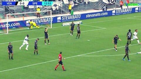 Serie A: Τζένοα – Βενέτσια – Σπέτσια 1-2 (Στιγμιότυπα)