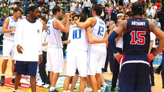 Οταν η Εθνική γονάτισε την Dream Team! (vids)