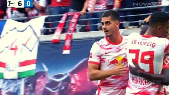 Bundesliga: Λειψία – Χέρτα 6-0  (Στιγμιότυπα)