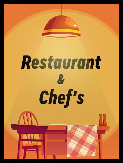restaurant & chefs