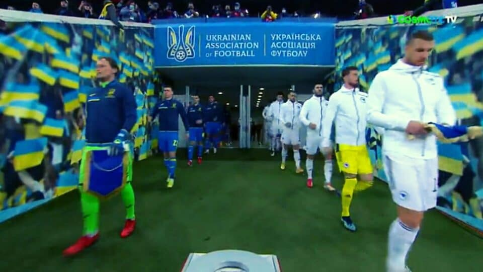 Προκριματικά Μουντιάλ: Ουκρανία – Βοσνία 1-1 (Vid)