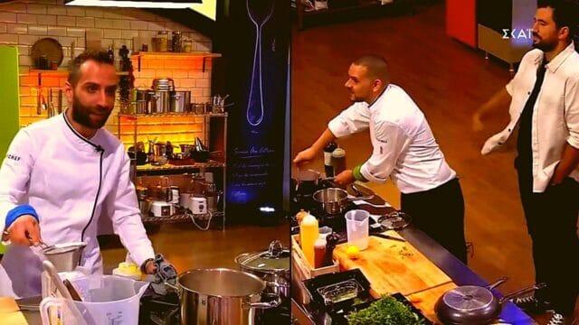 "Top Chef Spoiler: Ο Σάκης και ο Τζώρτζης μαγειρεύουν με ""πιστολιές"" μεταξύ τους! (Vids)"
