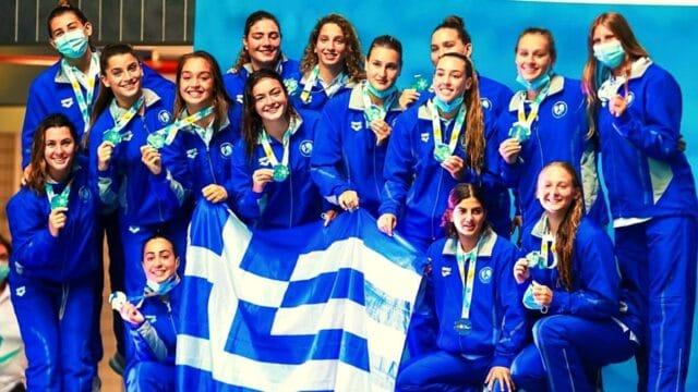 Πόλο – Εθνική Νέων Γυναικών: Δεύτερη στο Παγκόσμιο και ασημένιο μετάλλιο
