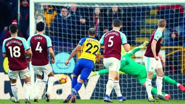 Premier League: Σαουθάμπτον – Μπέρνλι 2-2 (vid)