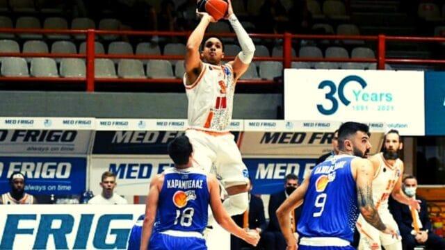 Basket League: Άνετη νίκη για τον Προμηθέα επί της Λάρισας (vid)